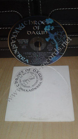 Throes Of Dawn - Pakkasherra (cd promo)