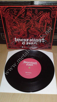 "Uncreation's Dawn - Uncelestial (7"")"