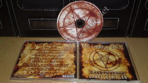 Various Artists - The Unholy Bible (cd, Cacophonous compilation)