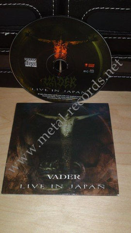 Vader - Live In Japan (cd promo)