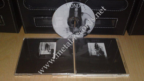 Vond - Selvmord (1st press cd, no barcode)