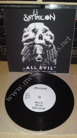 "Satyricon - All Evil (7"")"
