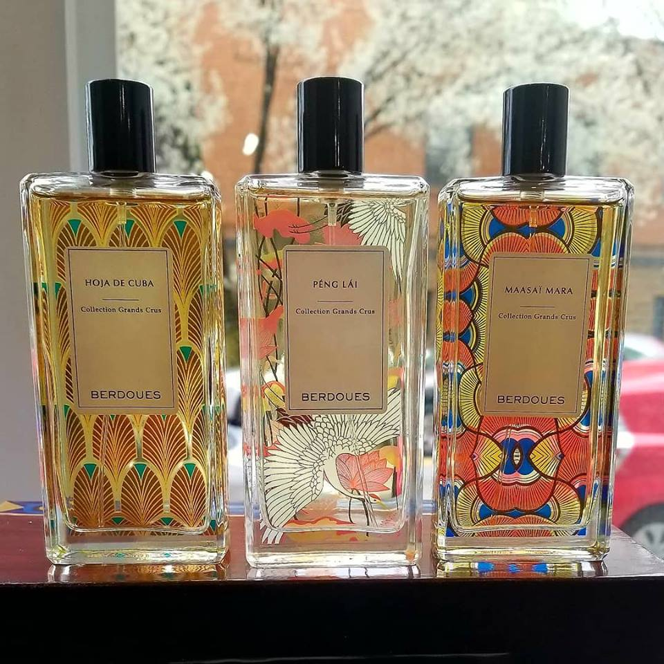 Just in: Three New Fragrances From Berdoues