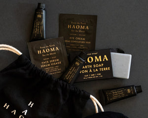 Haoma Gift With Purchase!