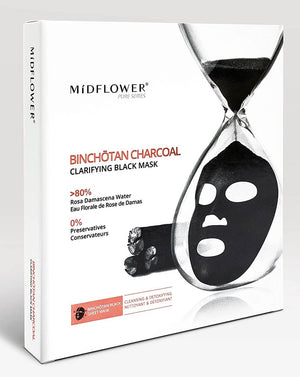 Mídflower - Binchōtan Charcoal Clarifying Black Mask