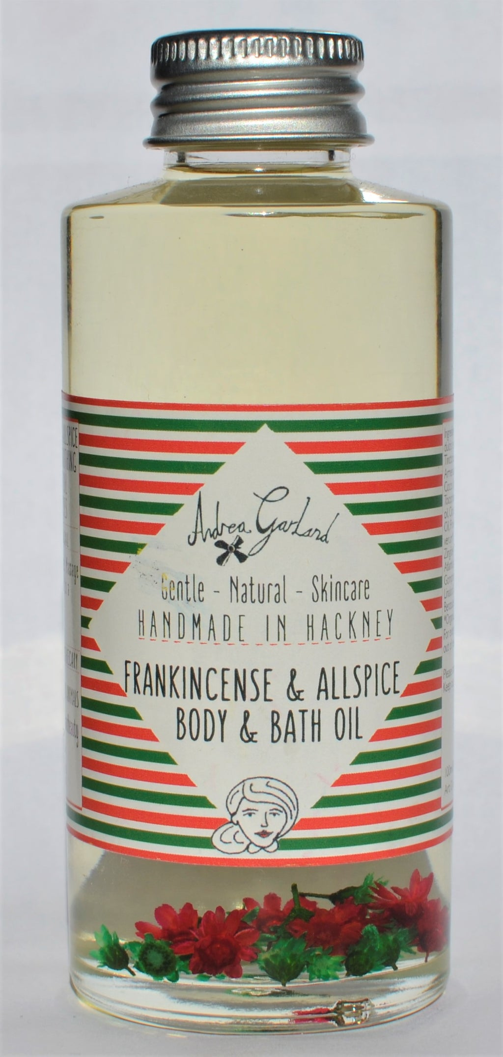 Andrea Garland - Frankincense and Allspice Body and Bath Oil