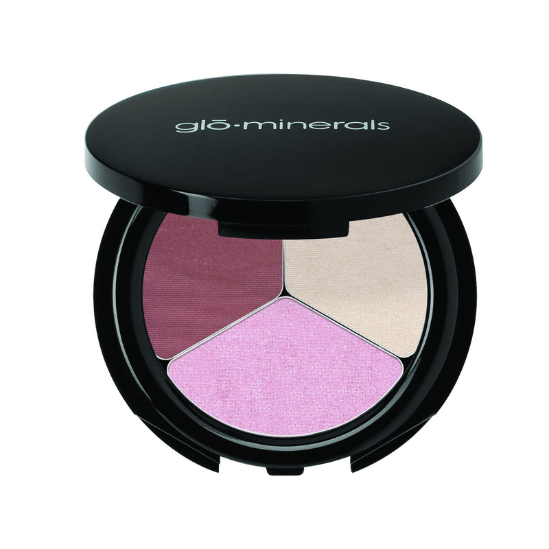 glō·minerals - Eye Shadow Trio, Champagne-Rose