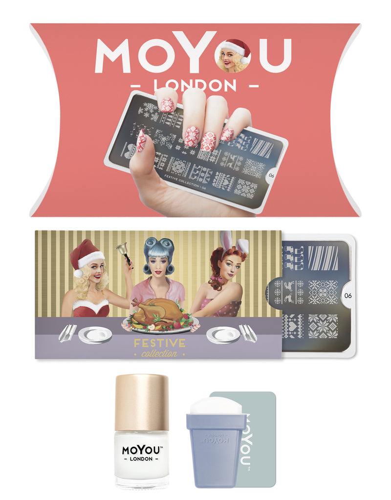 MoYou London - Festive Starter Kit with Plate 06