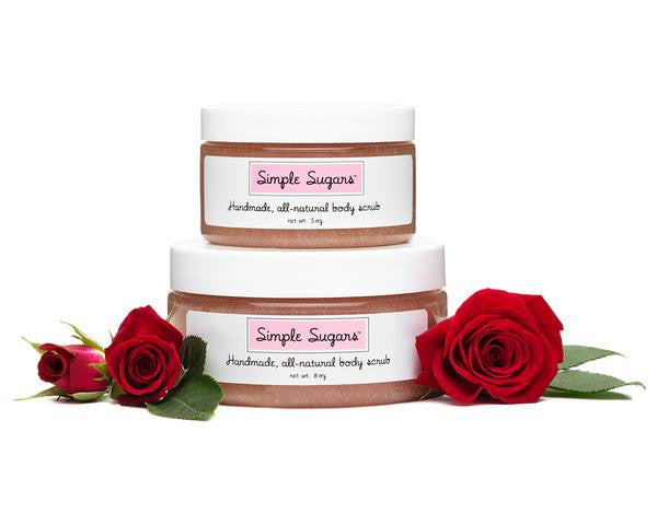 Simple Sugars - Rose Body Scrub