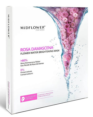 Mídflower - Rosa Damascena Flower Water Brightening Mask