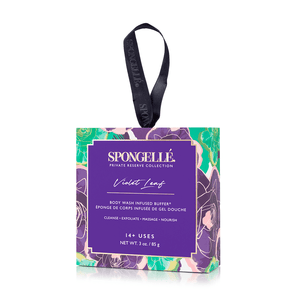 Spongellé - Violet Leaf Body Wash Infused Buffer