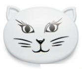 Andrea Garland - Cat Face, Brooch Lip Balm