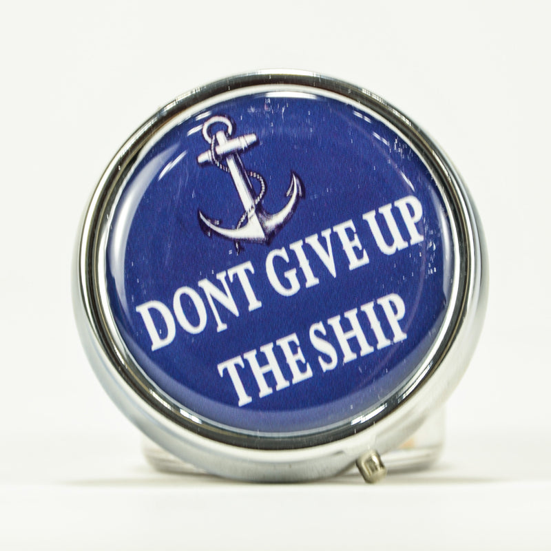 Andrea Garland - Don't Give Up The Ship, Pill Box Lip Balm