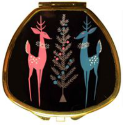 Andrea Garland - 60's Deer, Pill Box Lip Balm