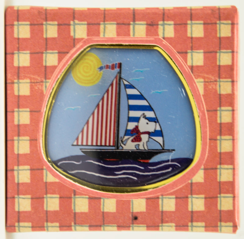 Andrea Garland - Sailor Scottie, Pill Box Lip Balm