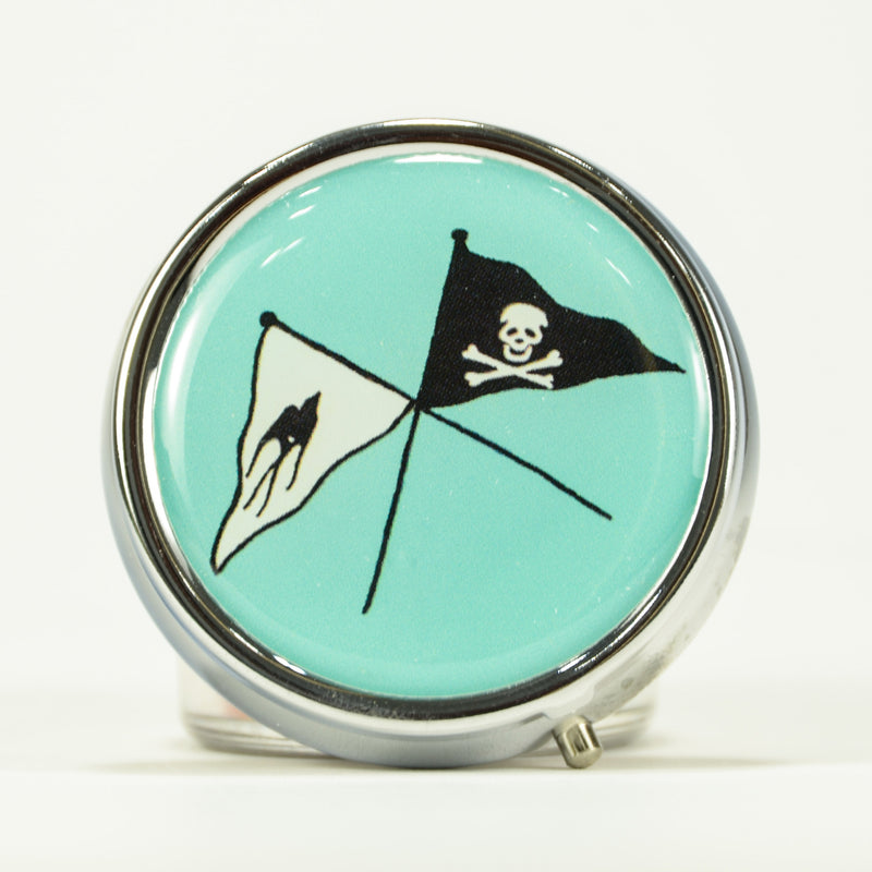 Andrea Garland - Shiver Me Timbers, Pill Box Lip Balm