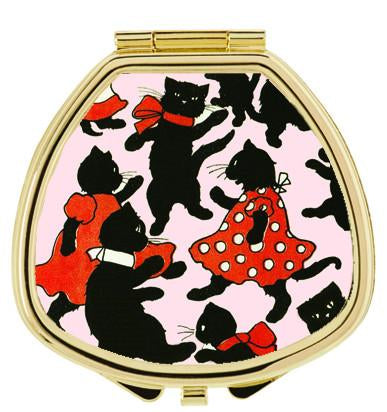 Andrea Garland - Dancing Cats, Pill Box Lip Balm