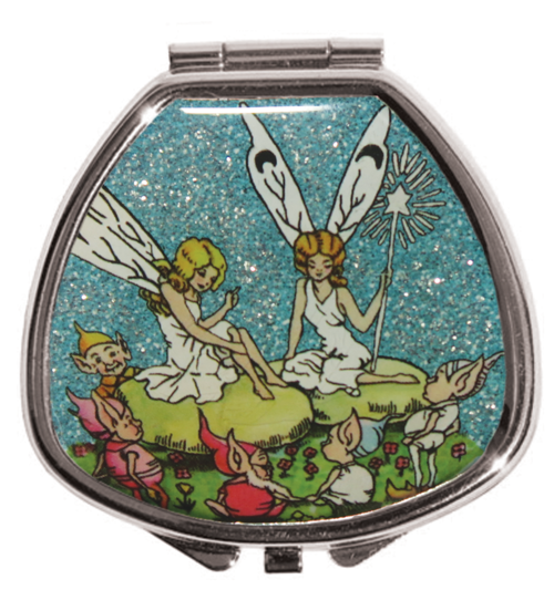 Andrea Garland - Glitter Moonlight Fairy Circle, Pill Box Lip Balm