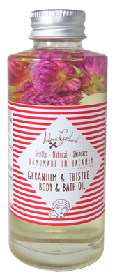 Andrea Garland - Geranium and Thistle Body and Bath Oil