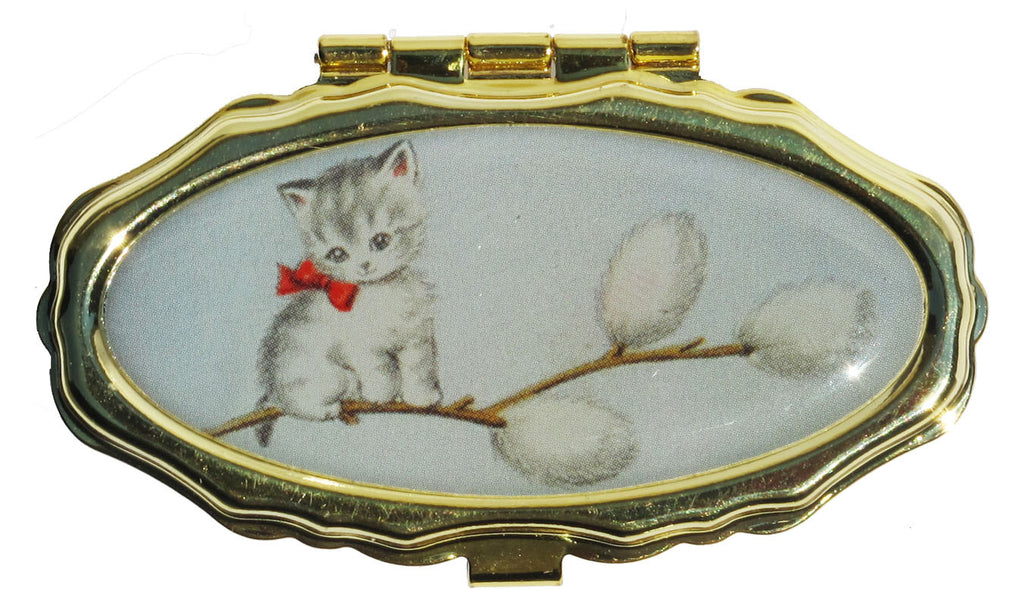 Andrea Garland - Kitty in Pussy Willow, Pill Box Lip Balm
