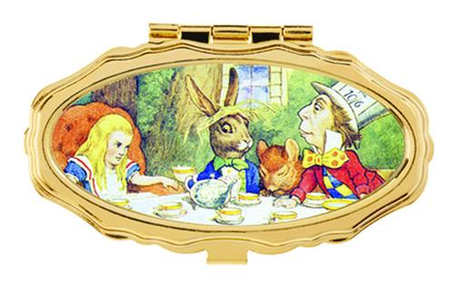 Andrea Garland - Alice in Wonderland: Mad Hatter's Tea Party, Pill Box Lip Balm