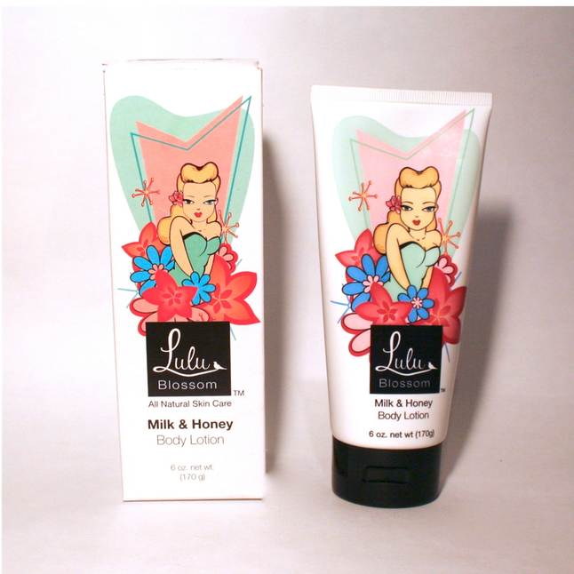 Lulu Blossom - Milk and Honey Body Lotion