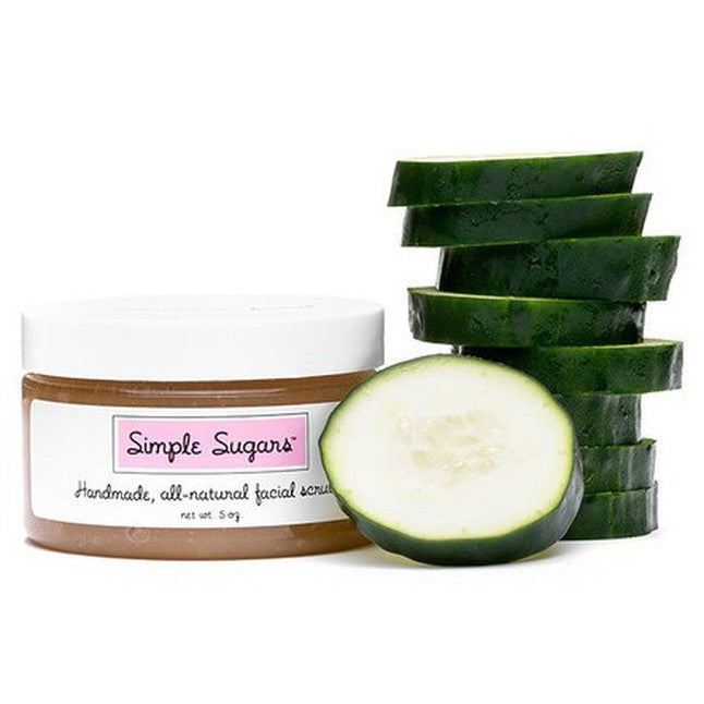 Simple Sugars - Cucumber Facial Scrub