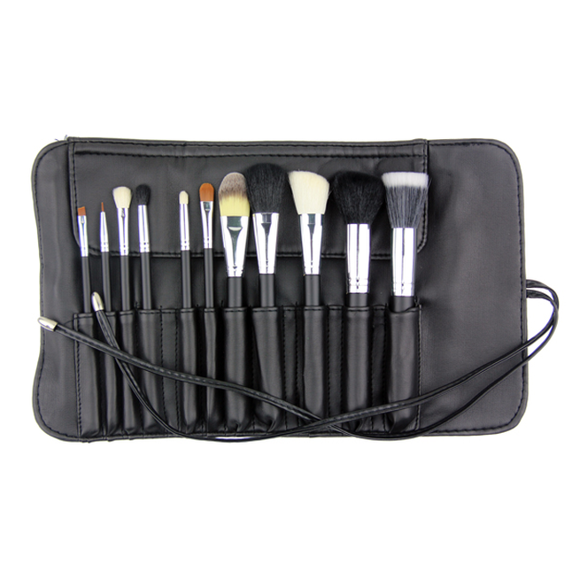 The Gilded Girl - 11pc Studio PRO Brush Set