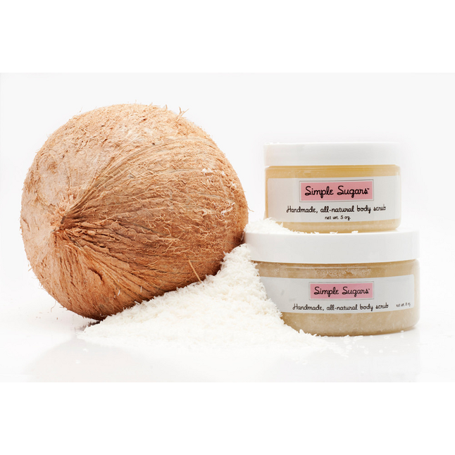 Simple Sugars - Coconut Body Scrub