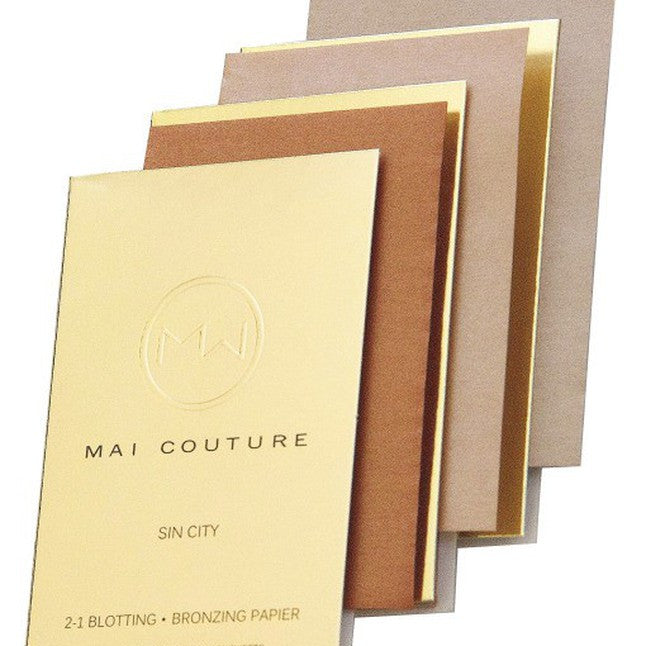 Mai Couture - 2 in 1 Blotting/Bronzing Papier