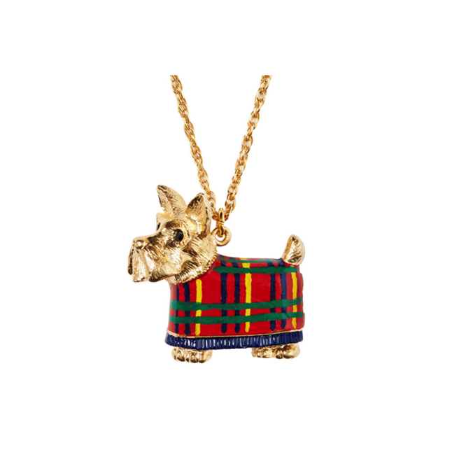 Andrea Garland - Tartan Toto, Necklace Lip Balm