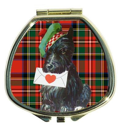 Andrea Garland - Tartan Terrier, Pill Box Lip Balm