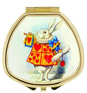 Andrea Garland - Alice in Wonderland: White Rabbit, Lip Balm Compact