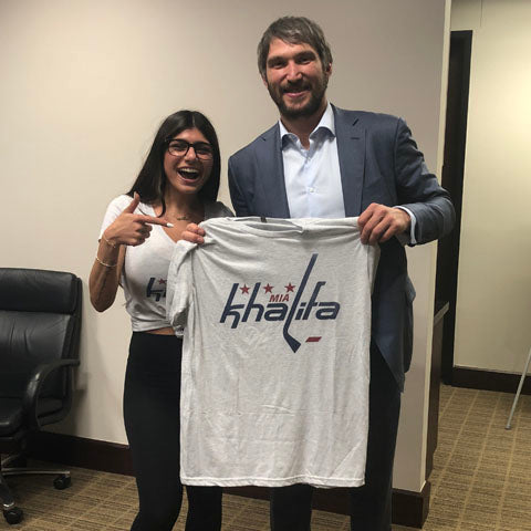 Image result for mia khalifa ovechkin