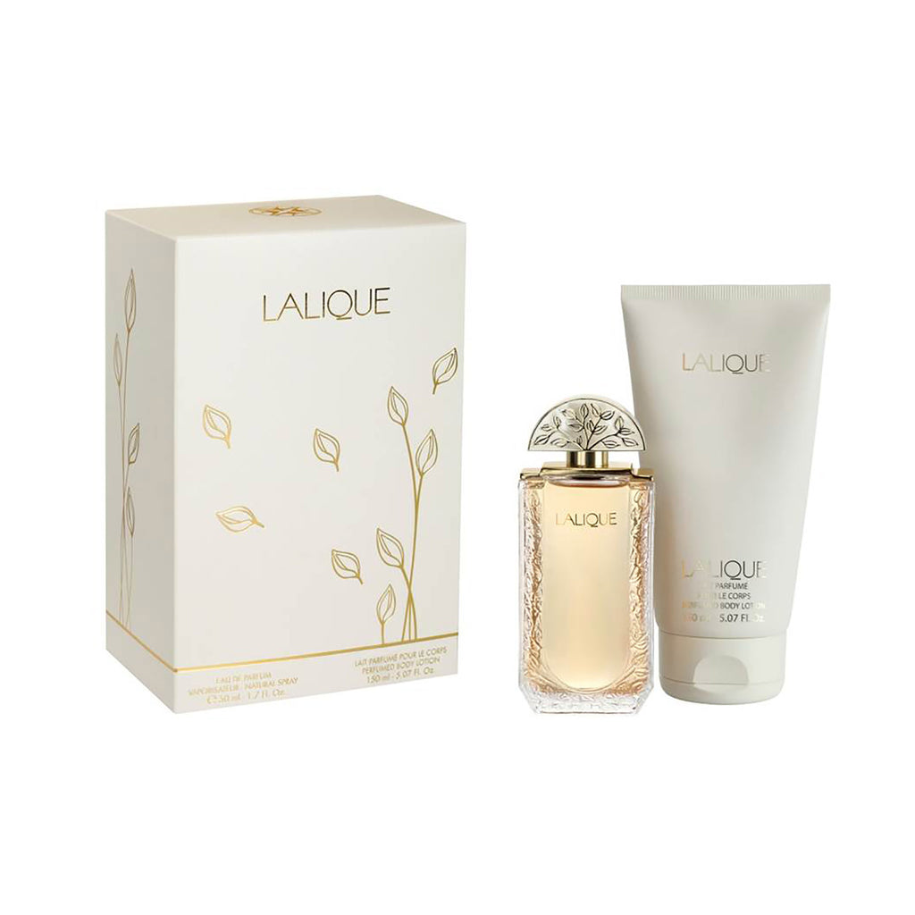 Lalique de Lalique 1.7 oz EDP & 5.07 oz Body Lotion Gift Set