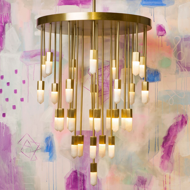 Dramatic Chic Statement Lamps Chandeliers