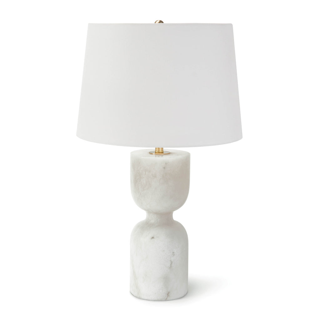 "Alabaster Table Lamp Large 25""H X 15""DIA"