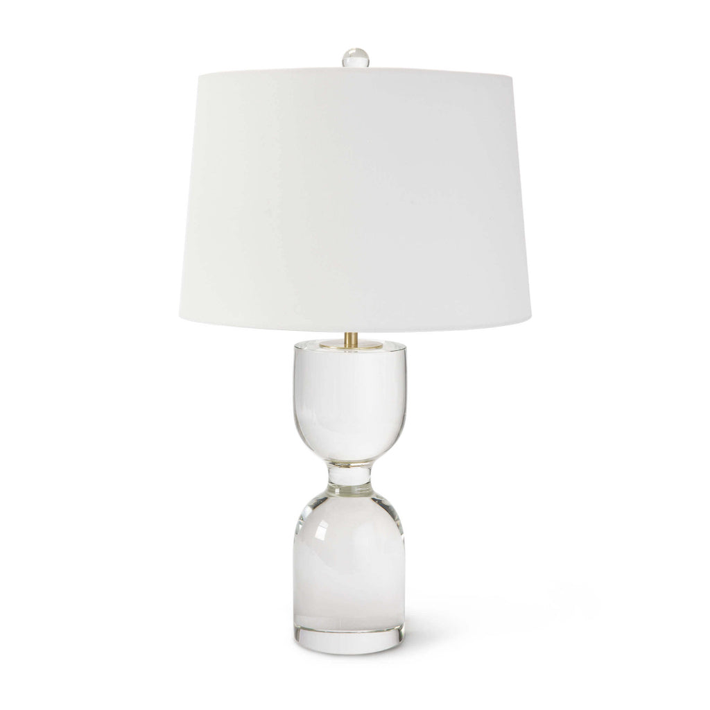 "Joan Crystal Table Lamp Large 25""H X 15""DIA"