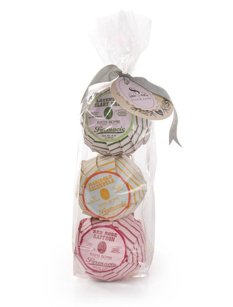 Farmacie Bath Bomb Gift Set by Soap and Paper Factory