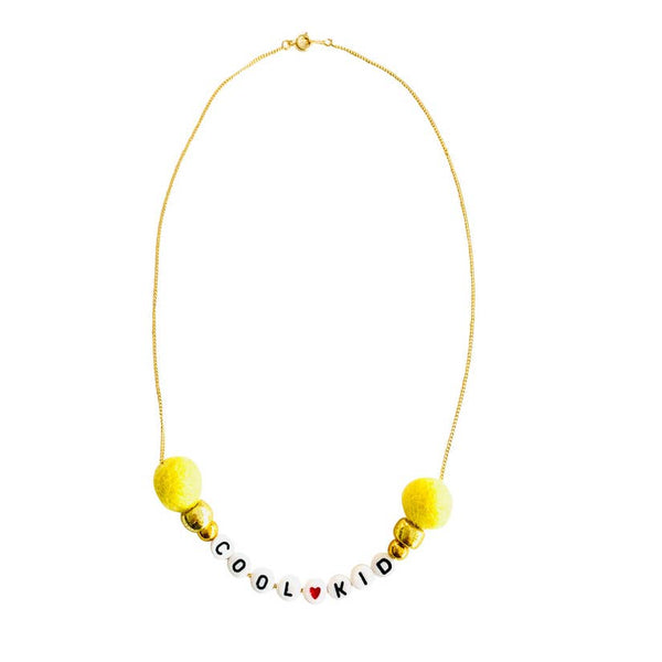 Cool Kid Word Necklace
