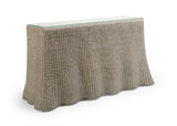 Savannah Console - Gray Wash or Natural Wicker