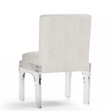 Arrissa French Modern Acrylic Arm Chair
