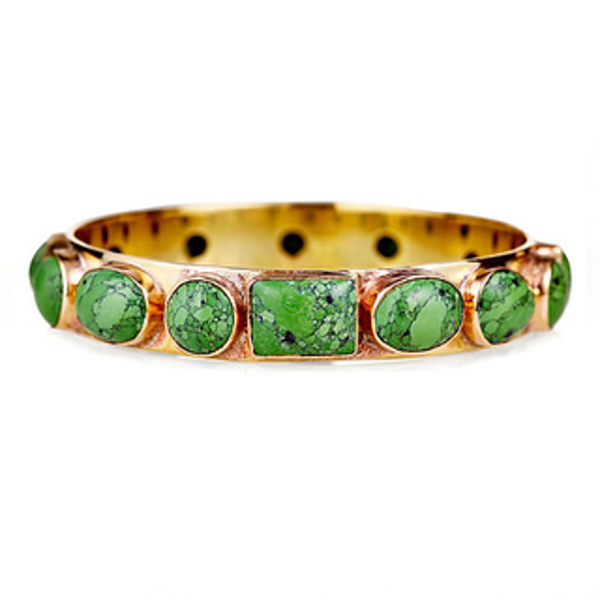 Bendall Bangle-Green Turqoise