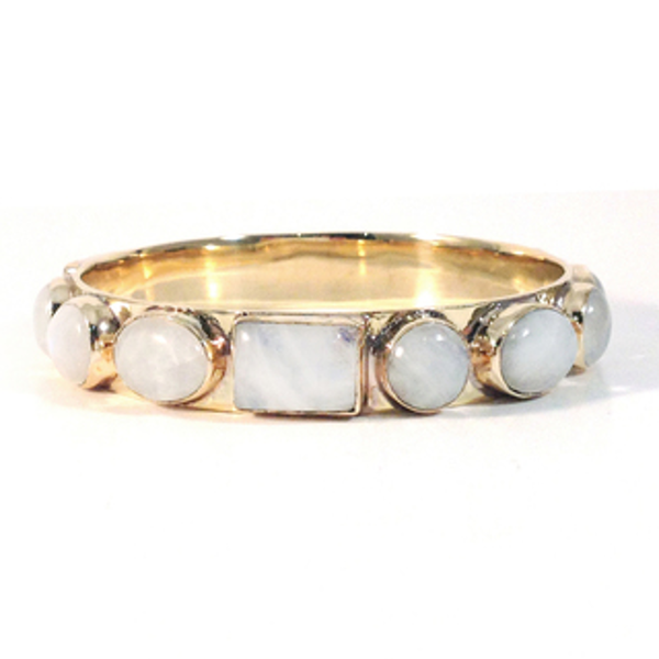 Bendall Bangle-Moonstone