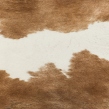 Brazilian Cowhide Brown and White