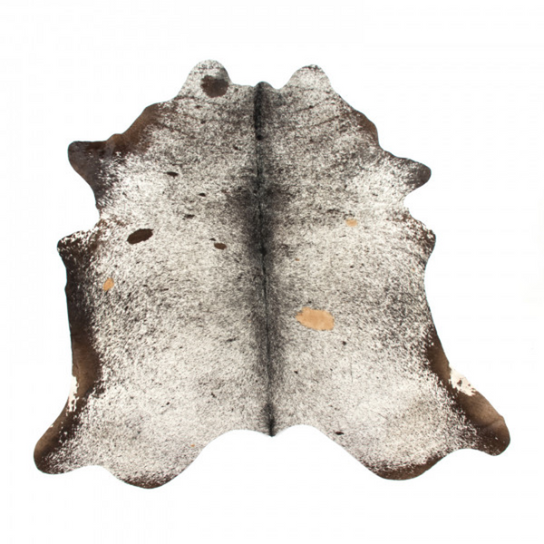 Brazilian Cowhide Salt and Pepper Black and White