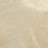 Brazilian Cowhide Solid White