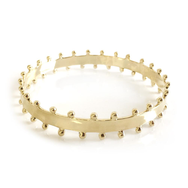 Carter Bangle - Thin Gold