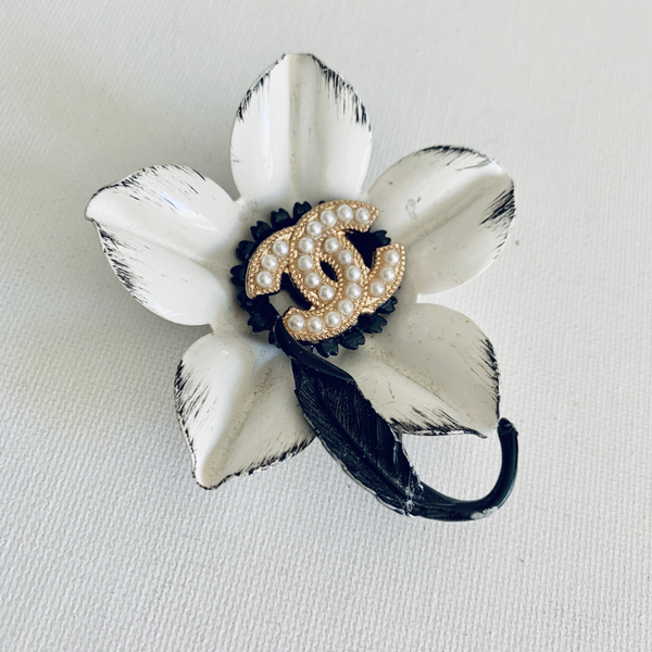 Designer Button Flower Brooch SOLD OUT