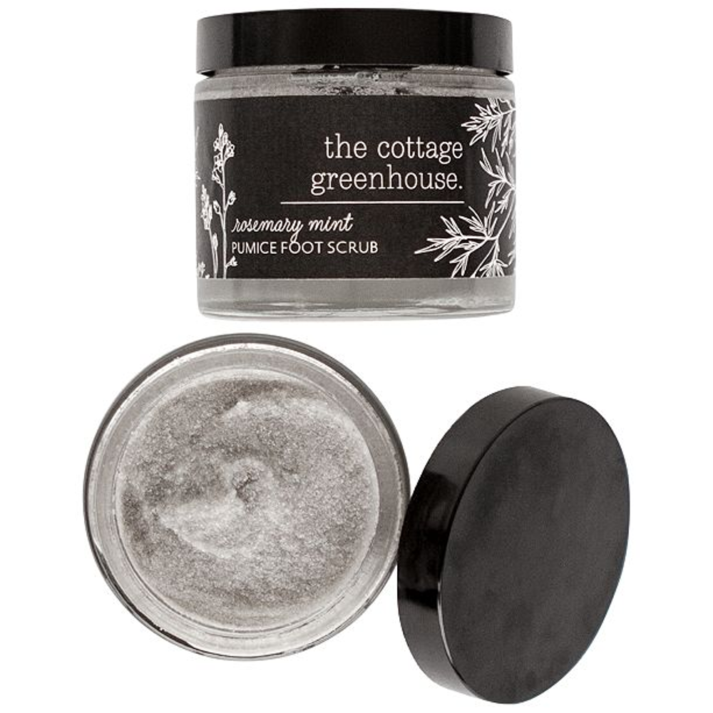 Rosemary Mint Pumice Foot Scrub by The Cottage Greenhouse